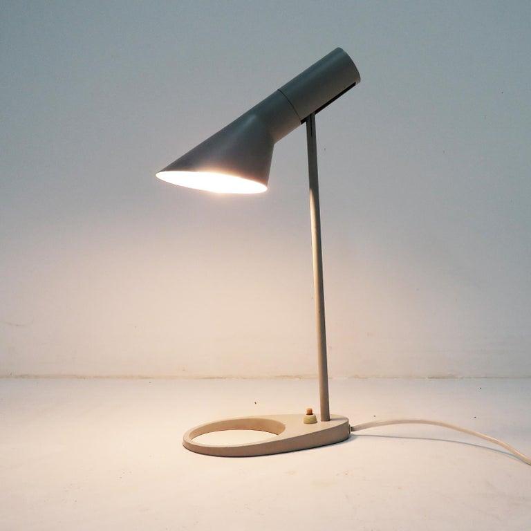 Metal Rare Arne Jacobsen 'AJ' Desk Lamp, 1957 For Sale