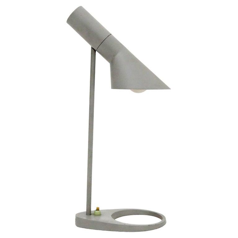 Rare Arne Jacobsen 'AJ' Desk Lamp, 1957 For Sale