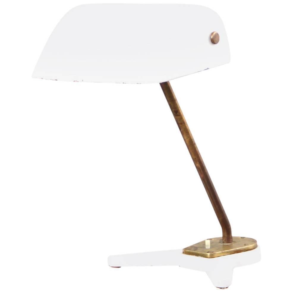 Rare Arne Jacobsen and Hans J. Wegner Desk Lamp Scandinavian Modern, 1938