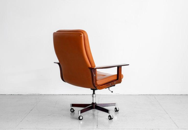 Danish Rare Arne Vodder Office Chair For Sale