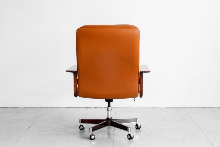 Rare Arne Vodder Office Chair In Good Condition For Sale In Los Angeles, CA
