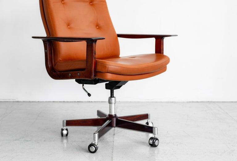 Rare Arne Vodder Office Chair For Sale 1