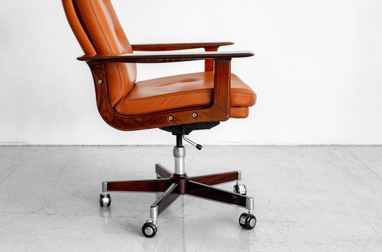 Rare Arne Vodder Office Chair For Sale 2