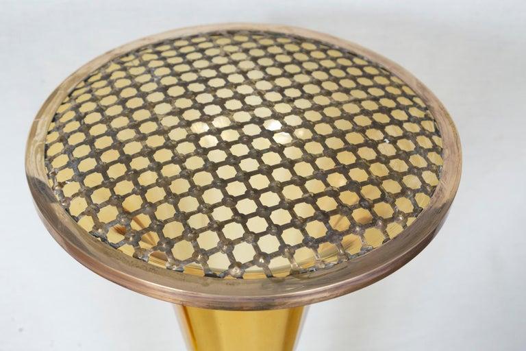 Mid-20th Century Rare Art Deco Murano Blown Amber Floor Vase For Sale