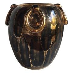 Rare Art Deco Vase Louis Dage, Circa 1930