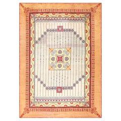 Rare Art Nouveau Austrian Carpet.Size: 8 ft 2 in x 11 ft 4 in (2.49 m x 3.45 m)