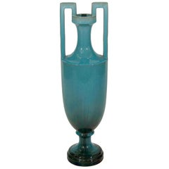 Rare Art Nouveau Vase Attributed to Clement Massier