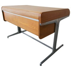 Rare Ash George Nelson Action Office Desk