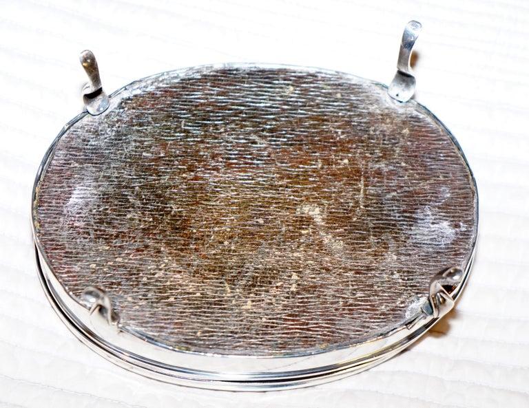 Rare Asprey London Sterling Silver 1917 Jewelry Box Charles & Richard Comyns For Sale 9