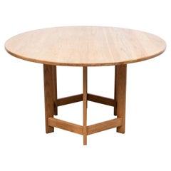 Rare Ate Van Apeldoorn Oak Dining Table