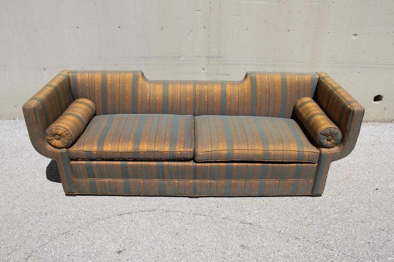 Rare Baker Furniture Co. Gondola Sofa, Midcentury For Sale 3