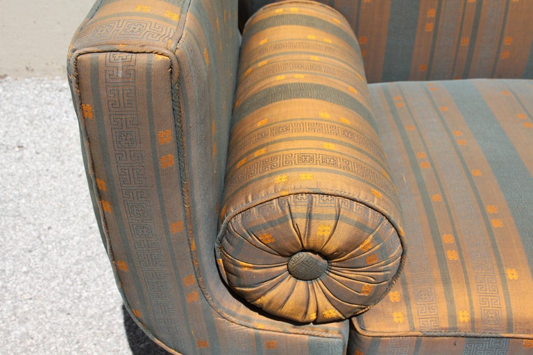 Rare Baker Furniture Co. Gondola Sofa, Midcentury For Sale 4