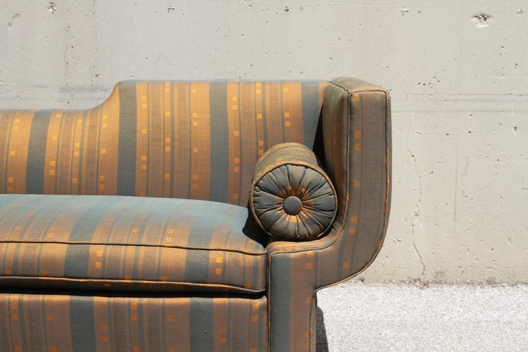 Rare Baker Furniture Co. Gondola Sofa, Midcentury For Sale 5