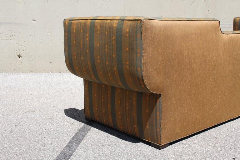 Rare Baker Furniture Co. Gondola Sofa, Midcentury For Sale 6