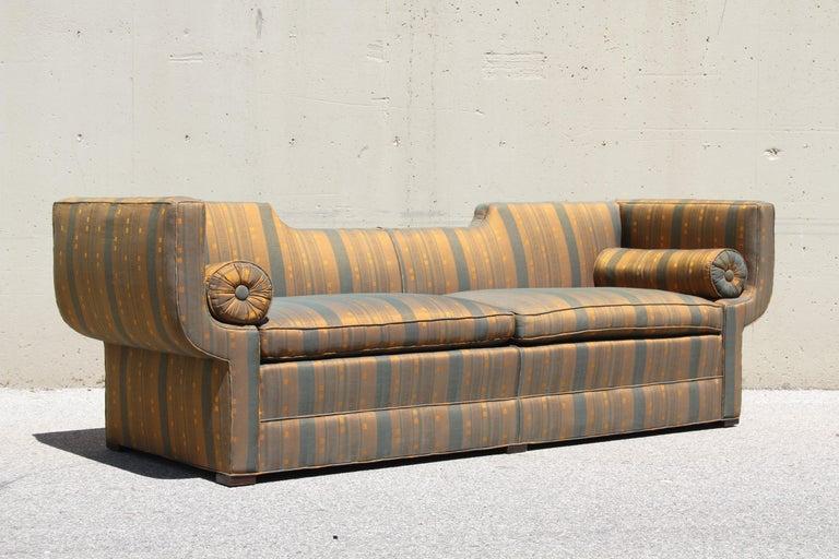 Rare Baker Furniture Co. Gondola Sofa, Midcentury For Sale 7
