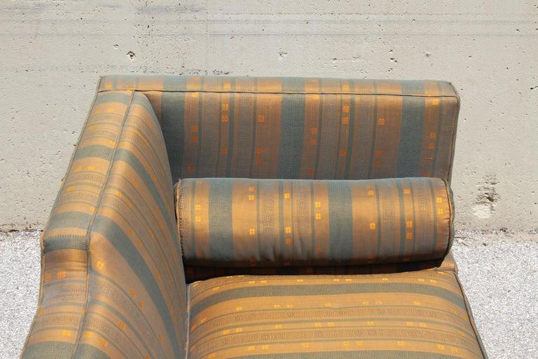 Rare Baker Furniture Co. Gondola Sofa, Midcentury For Sale 8