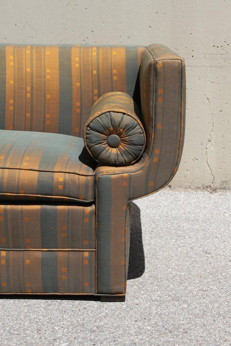 Rare Baker Furniture Co. Gondola Sofa, Midcentury For Sale 9
