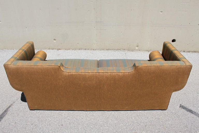 Rare Baker Furniture Co. Gondola Sofa, Midcentury For Sale 10