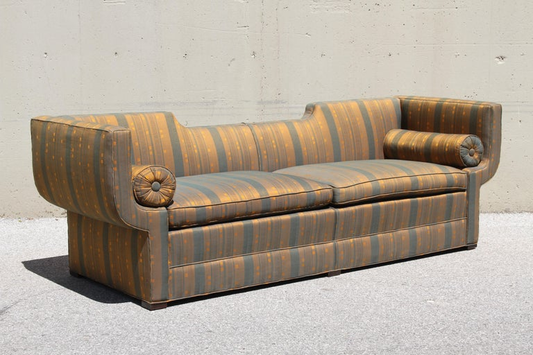 American Rare Baker Furniture Co. Gondola Sofa, Midcentury For Sale