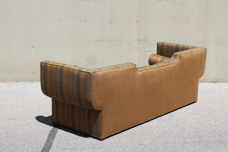 Rare Baker Furniture Co. Gondola Sofa, Midcentury For Sale 1