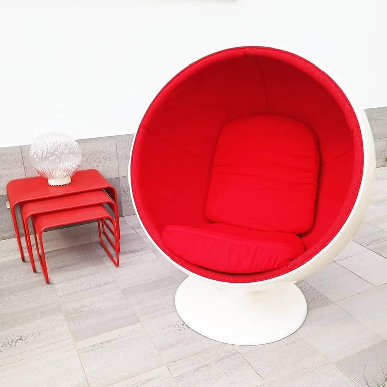 Rare Ball Chair by Eero Aarnio for Adelta  For Sale 4