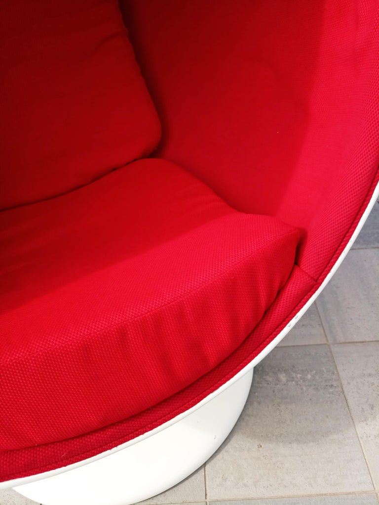 Fiberglass Rare Ball Chair by Eero Aarnio for Adelta  For Sale