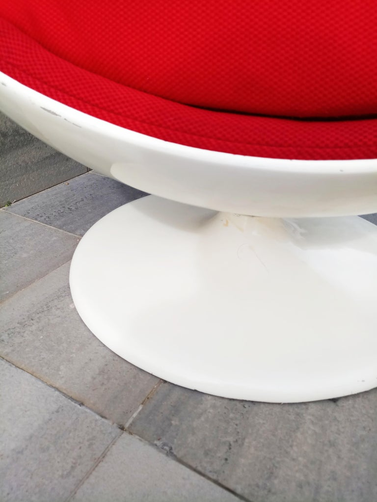 Rare Ball Chair by Eero Aarnio for Adelta  For Sale 3