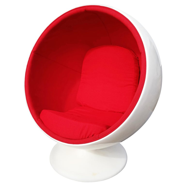 Rare Ball Chair by Eero Aarnio for Adelta  For Sale
