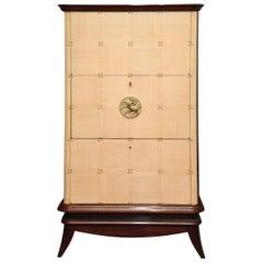 Rare Bar Cabinet by Maurice Jallot