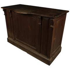 Rare Bar Counter from France, circa 1920