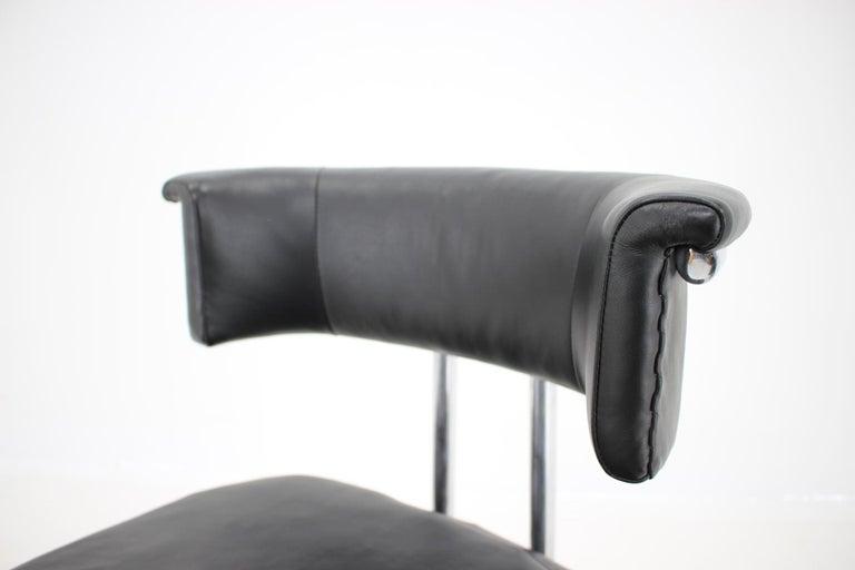 Czech Rare Bauhaus Chrome Tubular Chair by Mücke Melder, 1930s For Sale