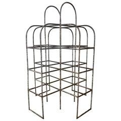 Rare Bauhaus Design, Industrial Playground Monkey Bars Garden Sculpture