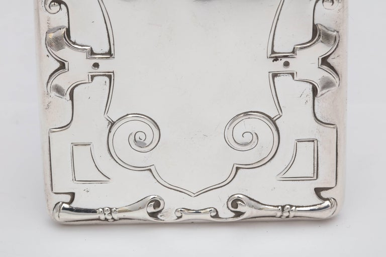 Rare Beautiful Sterling Silver Arts & Crafts Calling Card/Business Card Case For Sale 3