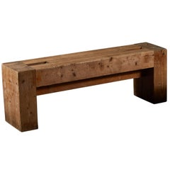 Rare Bench by Jean Prouvé and Guy Rey-Millet