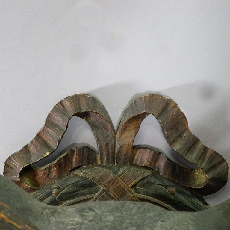 Wood Rare Black Forest Papier-mâché Stag Head, 1880 For Sale