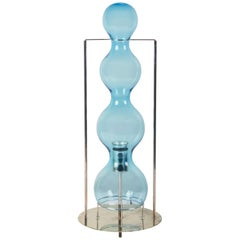 Rare Blown Glass Table Lamp by Jeannot Cerutti for VeArt