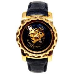 Rare Blue Ulysse Nardin Freak Carrousel Tourbillon Wrist Watch - Full Set