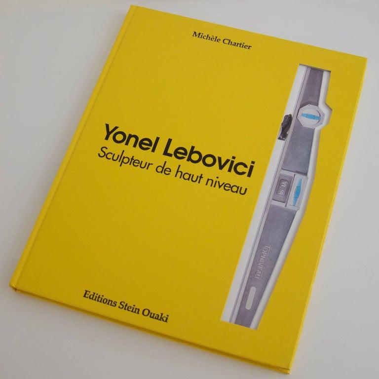 French Rare Book: Yonel Lebovici, Sculpteur de haut niveau For Sale
