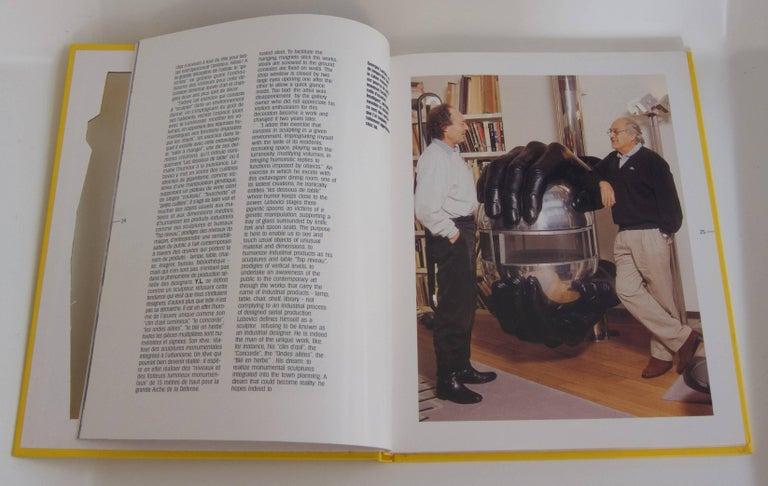 Paper Rare Book: Yonel Lebovici, Sculpteur de haut niveau For Sale