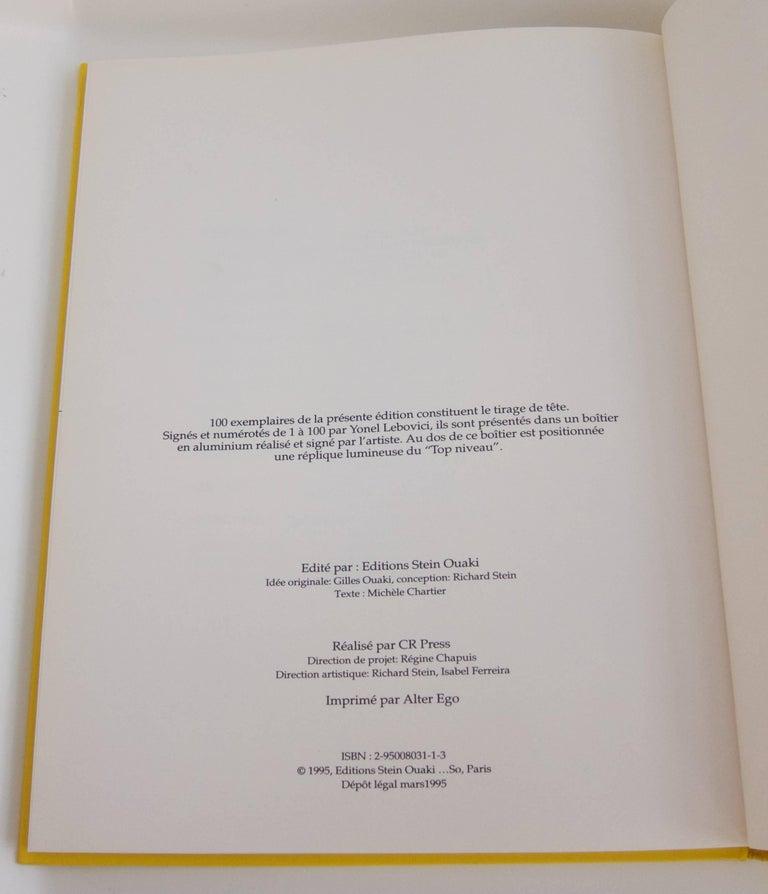 Rare Book: Yonel Lebovici, Sculpteur de haut niveau For Sale 1