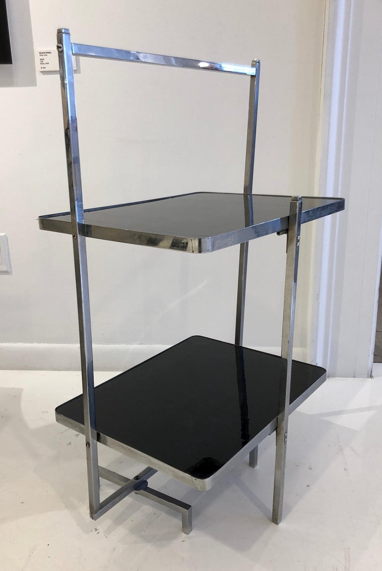 Mid-20th Century Rare Boris Lacroix Folding Table For Sale