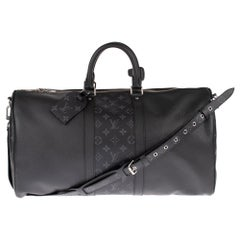 Rare brand new Louis Vuitton Keepall 50 Taigarama travel bag with strap !