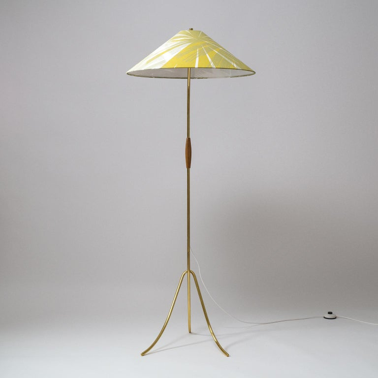 Rare Brass Floor Lamps