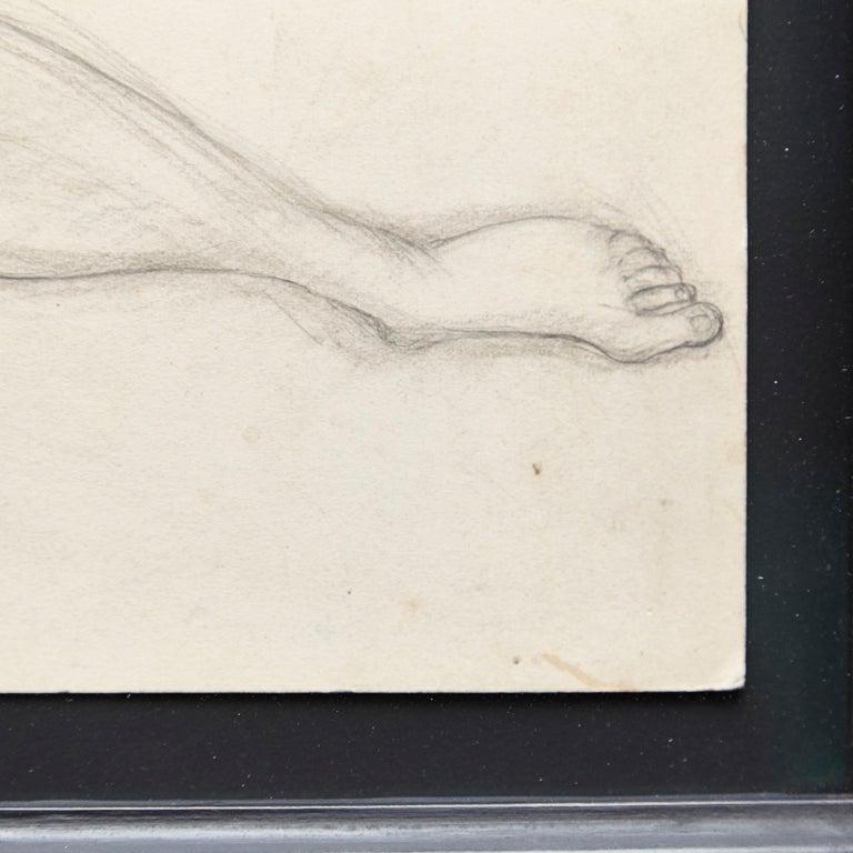 Rare Brassai Woman Nude Pencil Drawing, 1944 For Sale 2