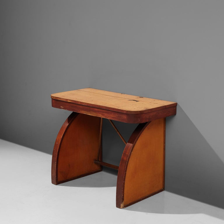 Rare Brown Saltman Desk with Chair  For Sale 5