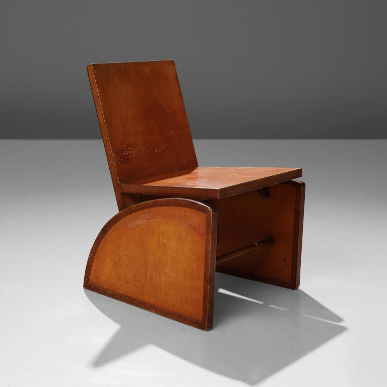 Mid-20th Century Rare Brown Saltman Desk with Chair  For Sale
