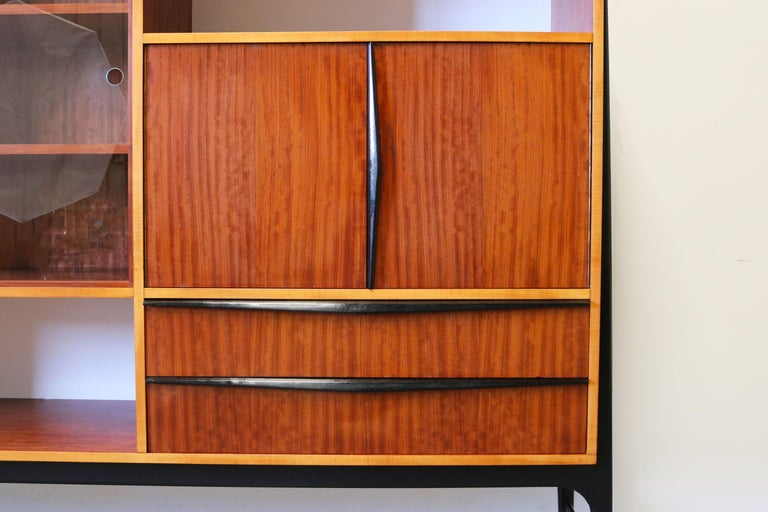 Rare Cabinet / Highboard by Alfred Hendrickx for Bruxelles Expo 1958 Belform  For Sale 6