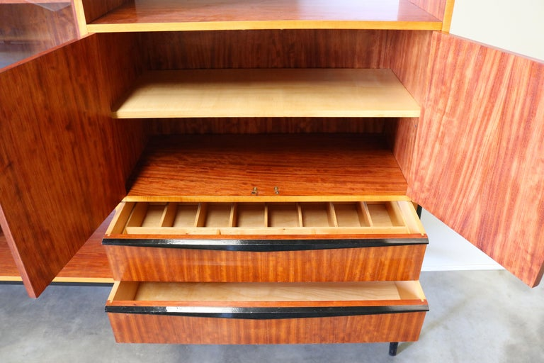 Rare Cabinet / Highboard by Alfred Hendrickx for Bruxelles Expo 1958 Belform  For Sale 7