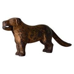 "Rare Cast Iron Nutcracker ""dog"", England Beginning of 20th Century"