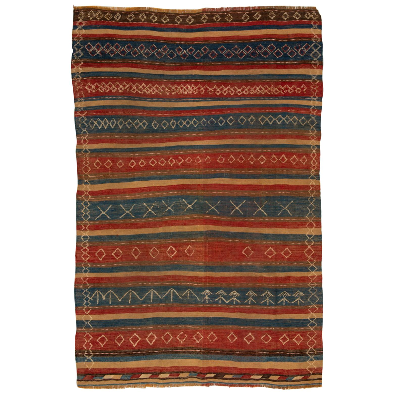 Rare Caucasian Verneh Rug from Private Collection